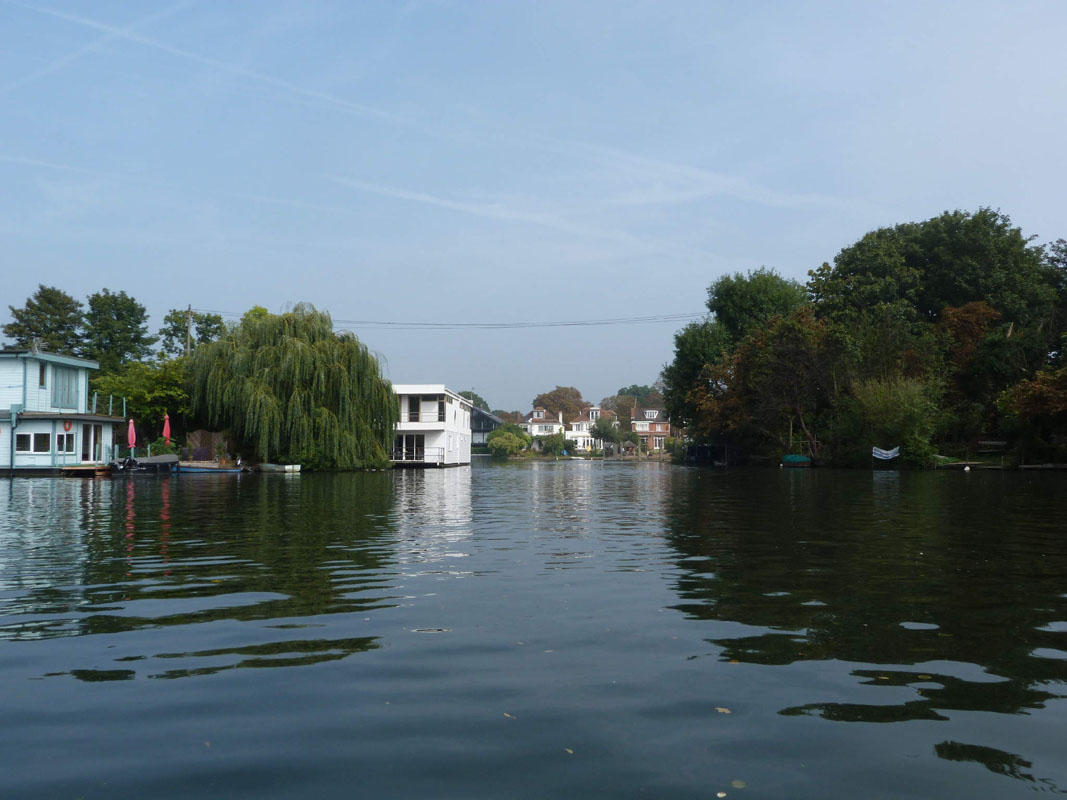 The Thames, nr Hampton Court, London