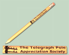 Telegraph Pole Pencil