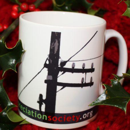 telegraph pole appreciation society mug