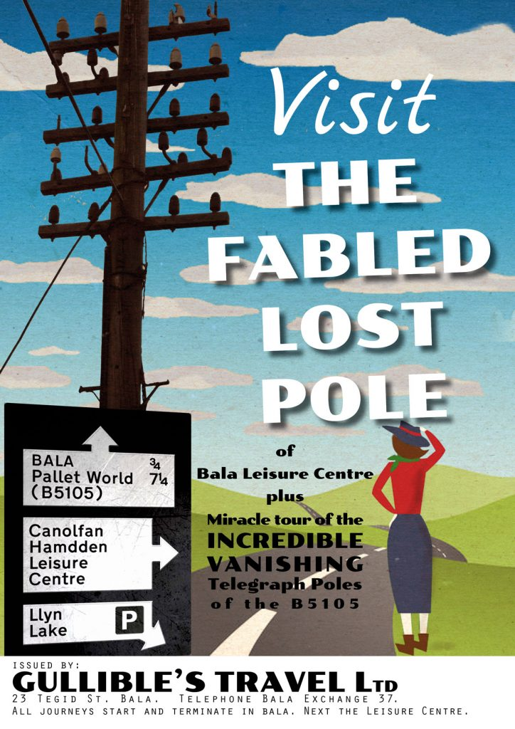The fabled lost pole of bala leisure centre